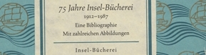View the Insel-Buecherei Series